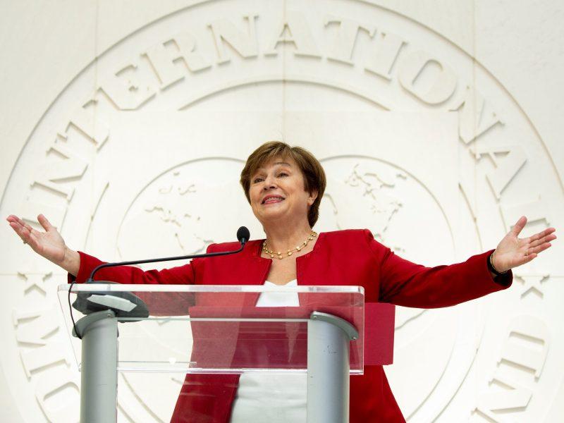 Kristalina Georgieva, una europea al frente del FMI