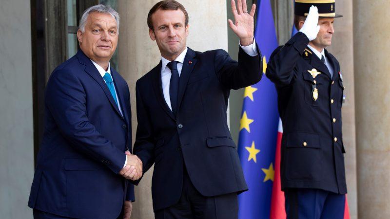 Orban y Macron