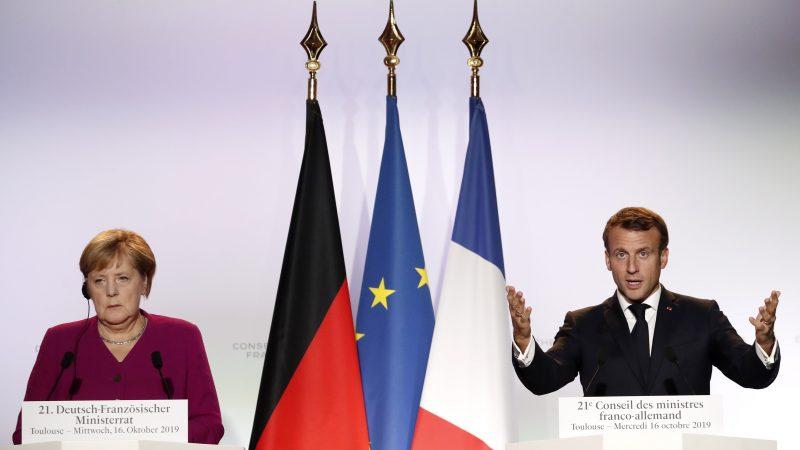 Merkel y Macron