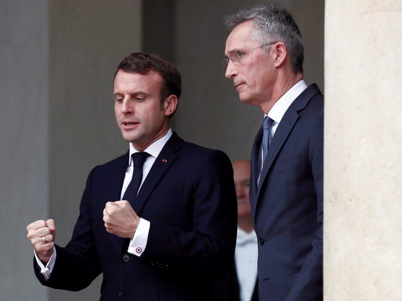 Macron reclama a la OTAN un refuerzo de la presencia en Sahel