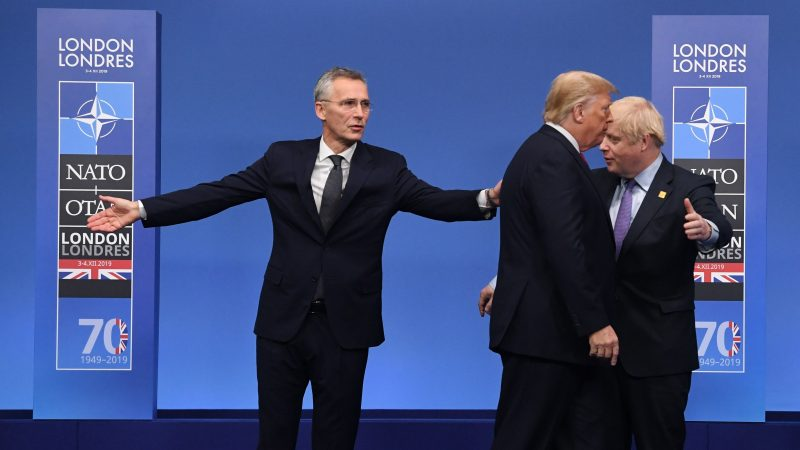 """Johnson, sobre la OTAN: """"Hay más aspectos que nos unen de los que nos separan"""""""
