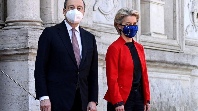 Draghi Von der Leyen