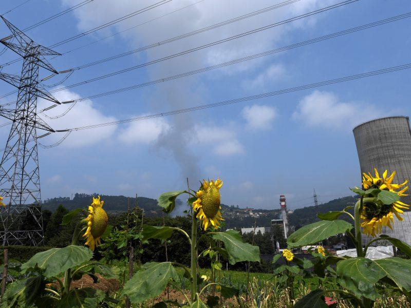 Alt=Vista de una torre eléctrica- EFE/ELOY ALONSO/Archivo El precio de la energía se añade a la agenda de la cumbre europea de octubre