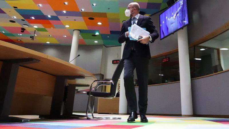 El-presidente-del-Consejo-Europeo-Charles-Michel. EFE