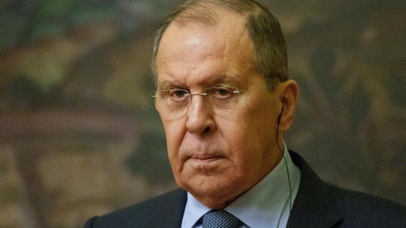 Alt= El ministro de Asuntos Exteriores de Rusia, Serguéi Lavrov. EFE/EPA/PAVEL GOLOVKIN / POOL