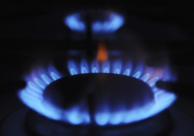 Alt= El precio del gas aumenta. En la imagen, un quemador de una cocina de gas. EFE/Andy Rain/ArchivoLa Unión Europea abordará en la cumbre con Ucrania la subida del precio del gas