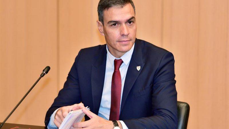 Alt= El presidente español Pedro Sánchez en la cumbre de los Balcanes en Eslovenia. EFE/EPA/IGOR KUPLJENIK Sánchez pide a la UE «audacia y contundencia» ante los precios de la luz