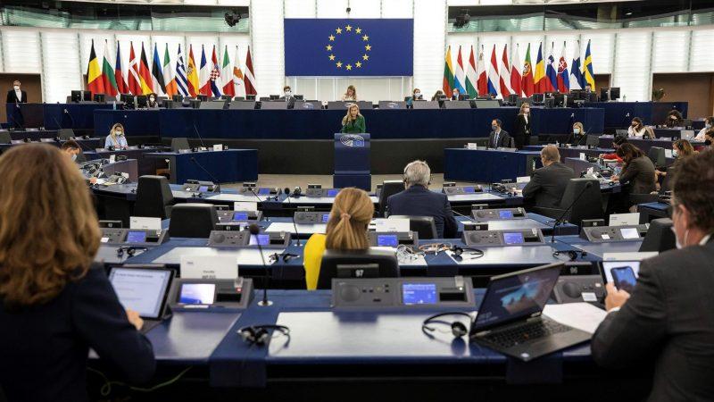 Alt-La-comisaria-europea-de-Energia-Kadri-Simson-habla-este-miercoles-en-el-Parlamento-Europeo.-EFE/EPA/Jean-Francois-Badias