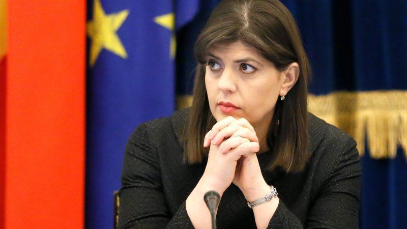 Alt= La jefa de la Fiscalía Europea, Laura Codruta Kövesi. EFE/EPA/ROBERT GHEMENTBruselas estudia proponer más presupuesto y personal para la Fiscalía Europea