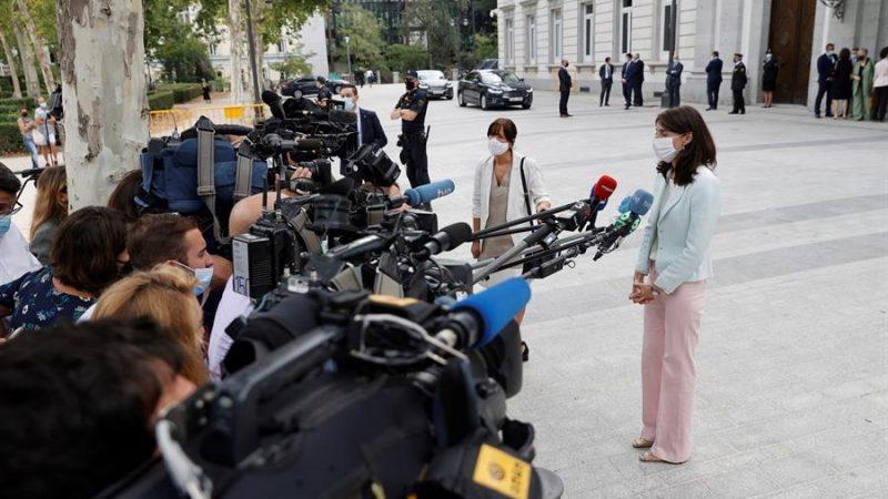 Alt=La-ministra-de-Justicia-Pilar-Llop-se-dirige-a-los-medios-de-comunicacion-tras-la-celebracion-del-acto-de-apertura-del-Ano-Judicial-en-el-Tribunal-Supremo-en-Madrid.-EFE-Emilio-Naranjo.jpg